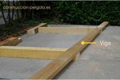 Madera y material para hacer una p rgola a medida - Postes de madera para pergolas ...