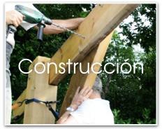 Construcción de pérgola