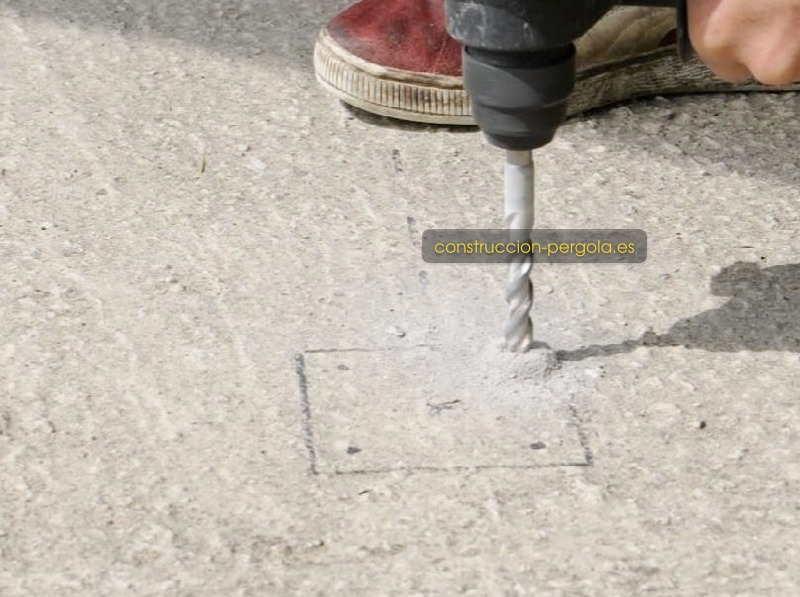 Taladrar el suelo