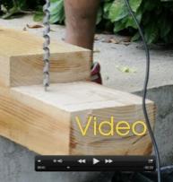 Video de la construcción de una pérgola de madera